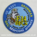 F-14 DFCS Cloth Badge