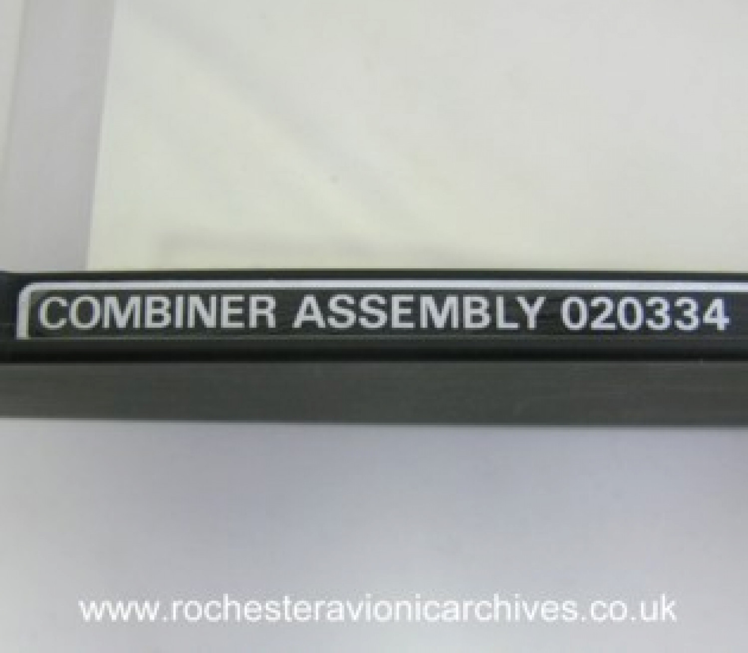 F-16A/B HUD Combiner Assembly