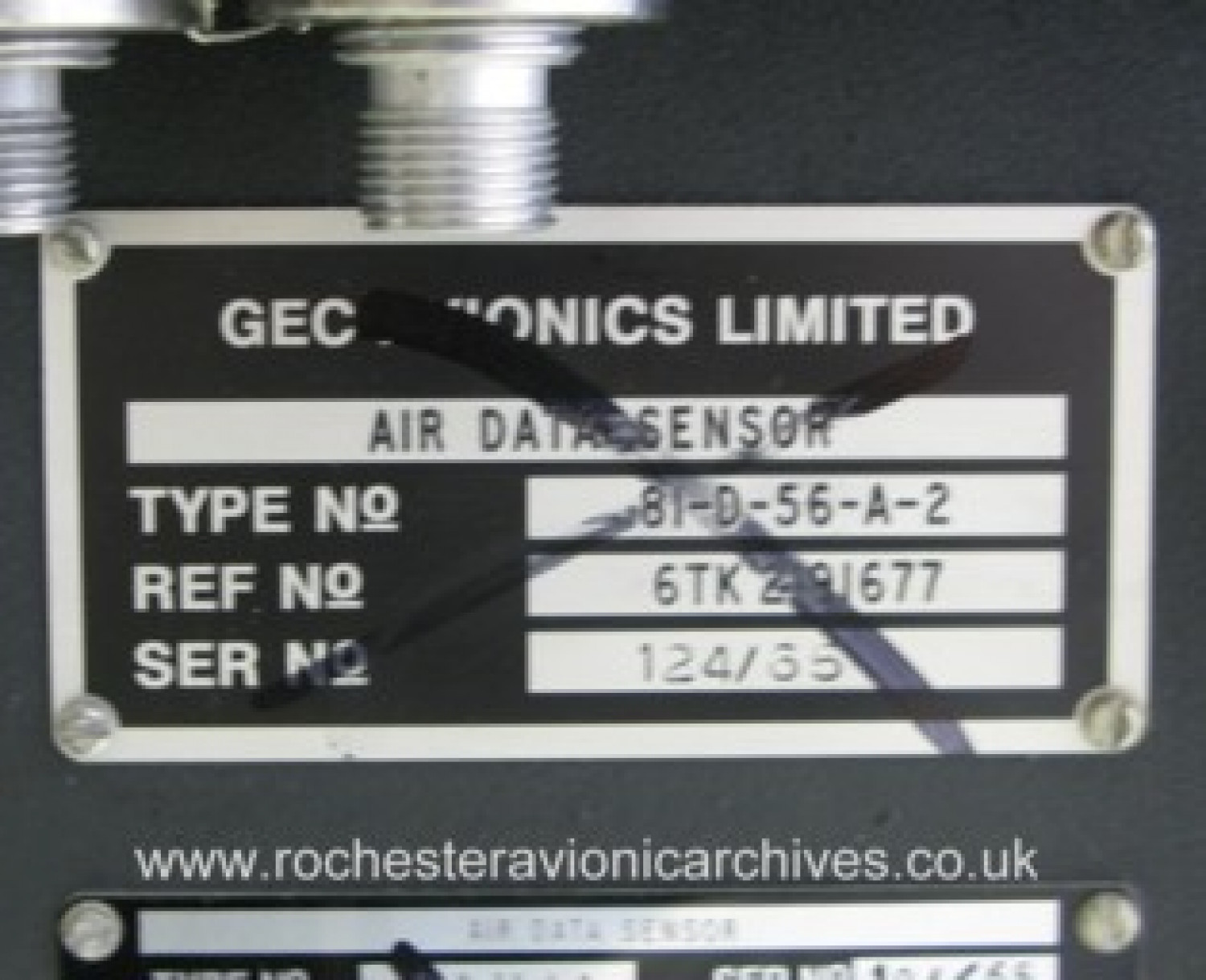 VC10 Air Data Sensor