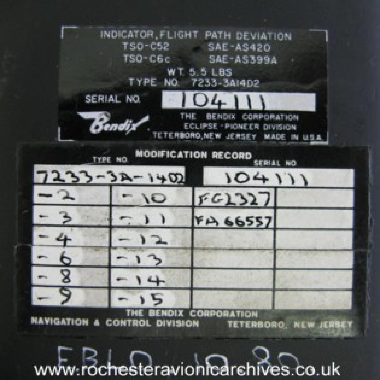Flight Path Deviation Indicator