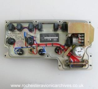 HUD Up-Front Control Panel (UFCP)