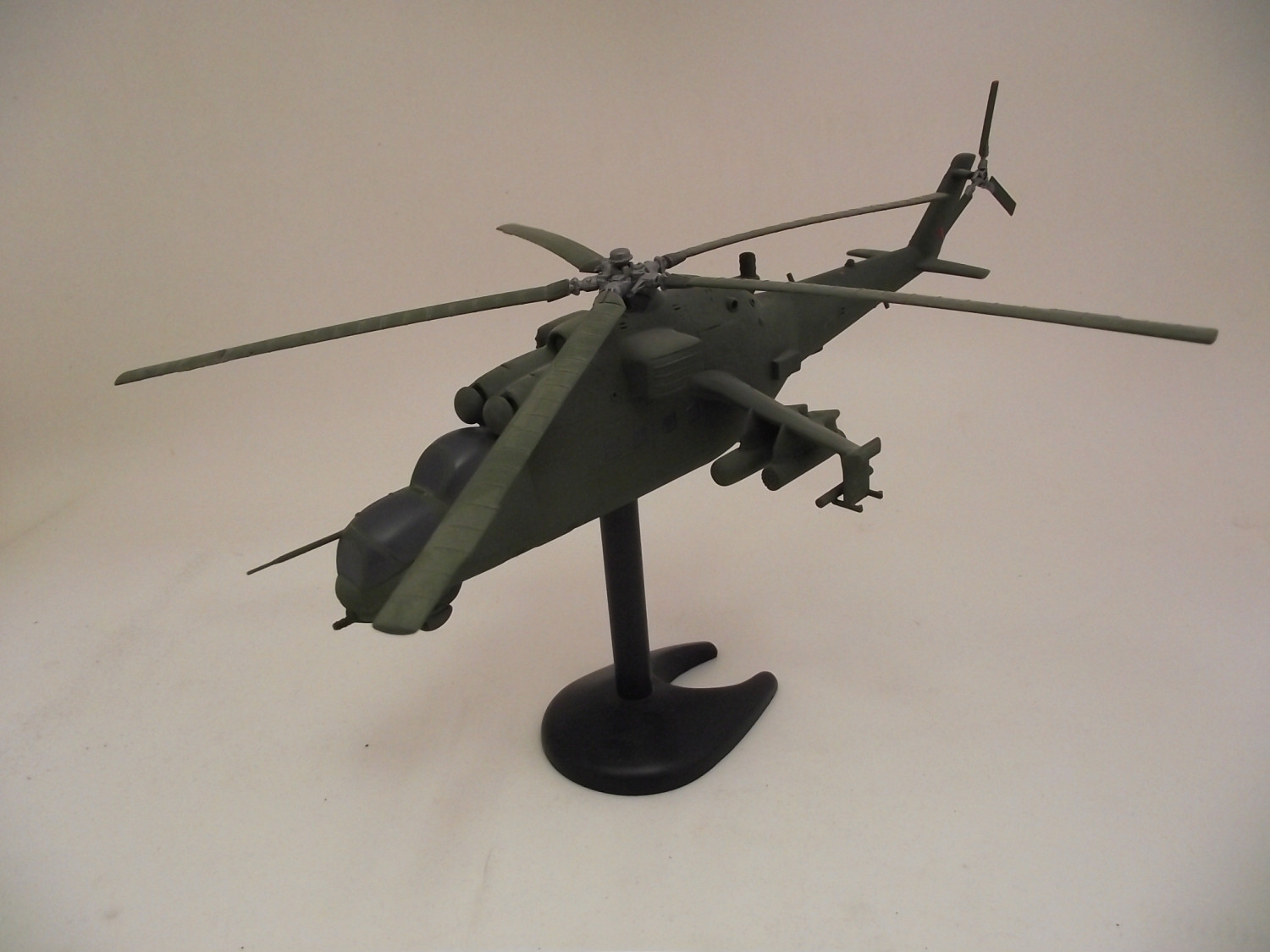 "Mil Mi-24D Attack Helicopter - NATO Code ""Hind D"""